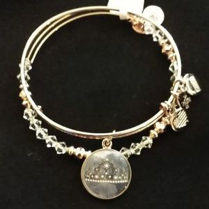 "ALEX AND ANI ART INFUSION ""QUEENS CROWN"" set NWT!!"